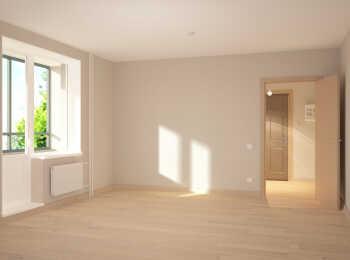 Чистовая отделка квартиры в светлой гамме